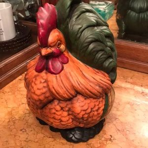 Fabulous VTG ceramic chicken (Cochin) cookie jar